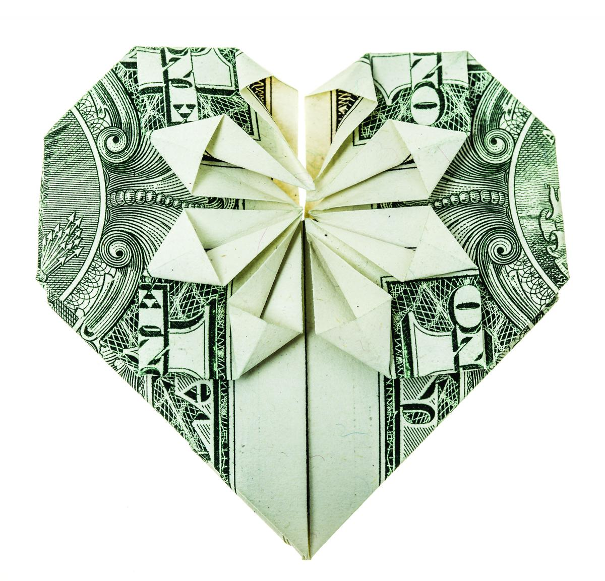 Origami samples heart origami dollar bill printable origami origami samples heart origami dollar bill 43 reasons to praise the lord visitor magazine jeuxipadfo Images