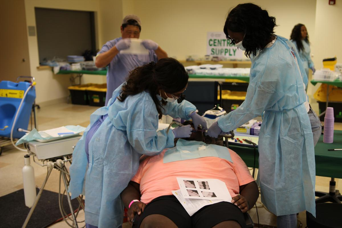 "Allegheny East Conference's North Philadelphia church hosts ""Avenues of the Soul,"" a free vision and dental clinic for community members in underserved parts of the community."