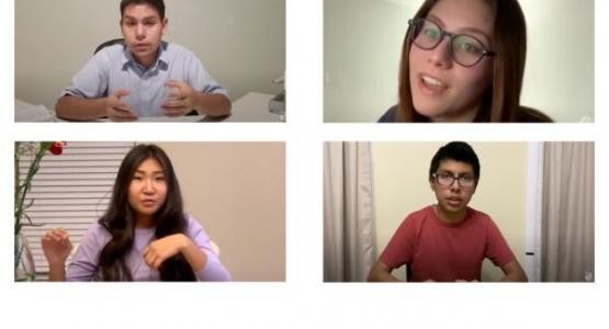 Gabriel Orellana, Stephanie Jaqua, Urna Uuganbayar, Angel Hernandez share week of prayer messages.