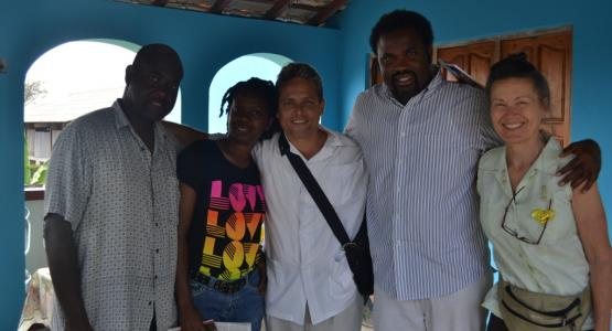 The Seventh-day Adventist mission team enjoys visiting Cuba (Noah Simpson is not pictured.)