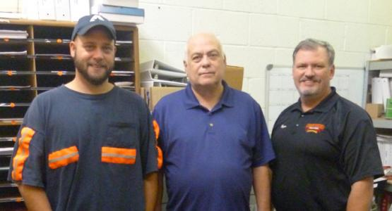 Tony Hicks, Allen Stowers and Roger Thaxton (head elder of the Williamson church), acting upon Tony's dream, immediately prayed for the Lord to intervene in the affairs of the Stowers Fire & Safety Equipment Company.