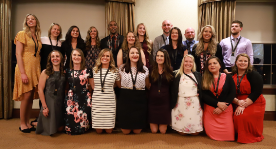 Graduates from Kettering College's Occupational Therapy Doctorate Program, many of whom are from the community, celebrate their accomplishment.