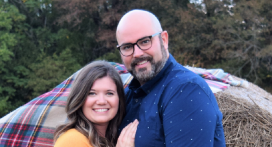 Todd Casey, pictured with his wife, December, is the new youth director for the Pennsylvania Conference.