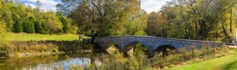 Burnside's Bridge at Antietam National Park, Sharpsburg, Md. Photo by Peter Chacalos on Pixabay
