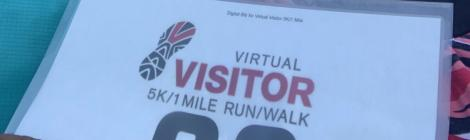 Virtual Visitor 5K/1 Mile Walk/Run