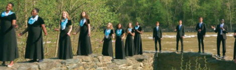 "HVA's music students create the ""River Jordan"" music video."