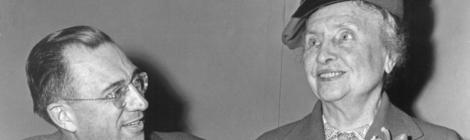 Helen Keller, circa 1987