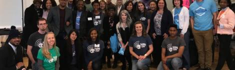 Groups from Beltsville and Washington Adventist University participate in Global Youth Day.