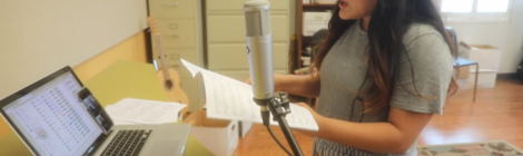 Vocalist Ana Laura Aguilar Piedra is working to earn her Bachelor's in Music in voice performance at WAU
