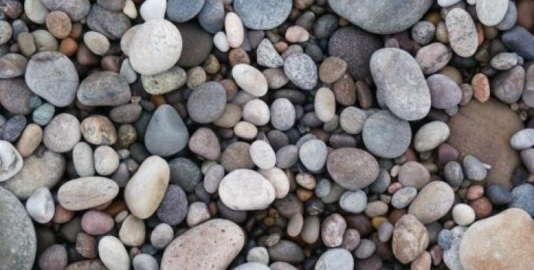 Pebbles on Findhorn Beach photo Andrew Urquhart from Flickr