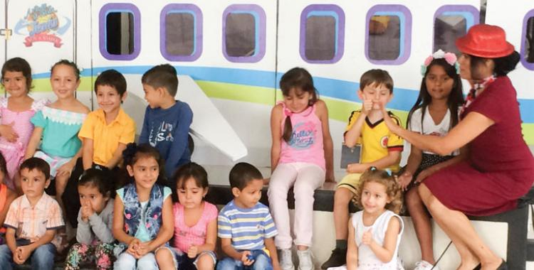 Impoverished and unschooled children wait for the opportunity to enroll in a Christian school, as the team who visited Colombia donated $3,500 for this cause.