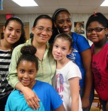 Elsa Perez and friends